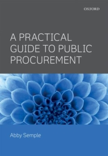 A Practical Guide to Public Procurement, Paperback / softback Book