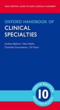 Oxford Handbook of Clinical Specialties - Mini Edition, Part-work (fasciculo) Book