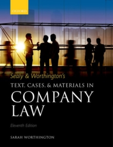 Sealy & Worthington's Text, Cases, and Materials in Company Law, Paperback / softback Book