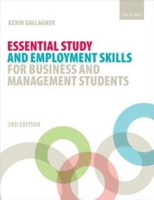 Essential Study and Employment Skills for Business and Management Students, Paperback Book