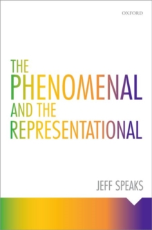 The Phenomenal and the Representational, Hardback Book