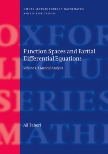 Function Spaces and Partial Differential Equations : 2 Volume set, Multiple copy pack Book