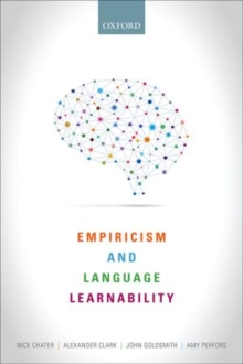 Empiricism and Language Learnability, Paperback / softback Book