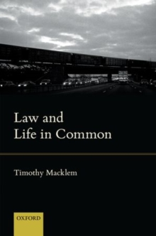 Law and Life in Common, Hardback Book