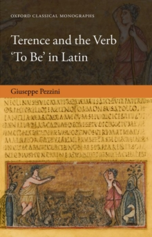 Terence and the Verb 'To Be' in Latin, Hardback Book