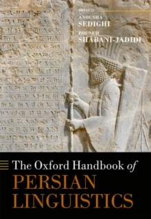 The Oxford Handbook of Persian Linguistics, Hardback Book