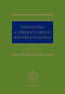 Financing Company Group Restructurings, Hardback Book