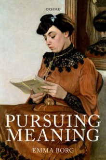 Pursuing Meaning, Paperback / softback Book