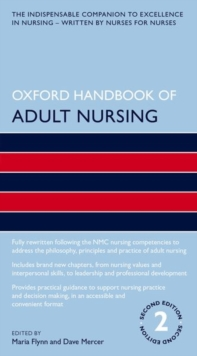 Oxford Handbook of Adult Nursing, Paperback / softback Book