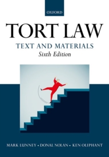 Tort Law: Text and Materials, Paperback / softback Book