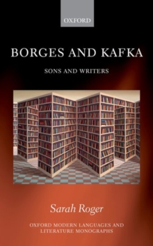 Borges and Kafka : Sons and Writers, Hardback Book