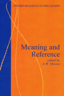 Meaning and Reference, Paperback / softback Book