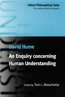 An Enquiry concerning Human Understanding, Paperback / softback Book