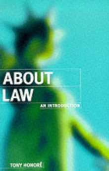 About Law: An Introduction, Paperback Book