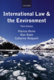 International Law and the Environment, Paperback Book