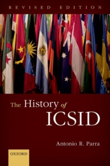 The History of ICSID, Hardback Book