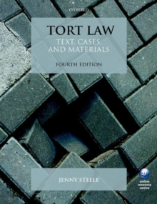 Tort Law : Text, Cases, and Materials, Paperback / softback Book