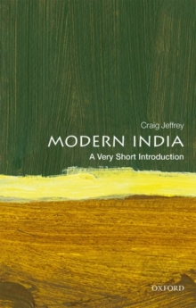 Modern India: A Very Short Introduction, Paperback / softback Book