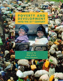 Poverty and Development, Paperback Book