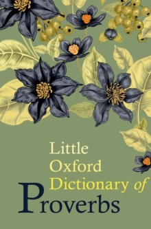 Little Oxford Dictionary of Proverbs, Hardback Book