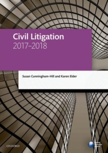 Civil Litigation 2017-2018, Paperback Book