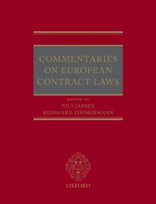 Commentaries on European Contract Laws, Hardback Book
