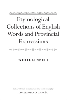 Etymological Collections of English Words and Provincial Expressions, Hardback Book