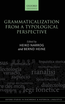 Grammaticalization from a Typological Perspective, Hardback Book