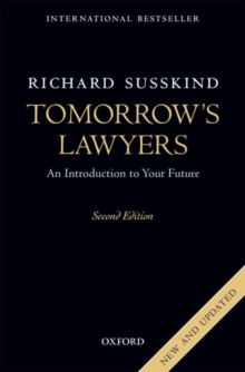 Tomorrow's Lawyers : An Introduction to Your Future, Paperback / softback Book
