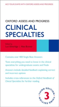 Oxford Assess and Progress: Clinical Specialties, Paperback / softback Book