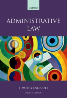 Administrative Law, Paperback Book