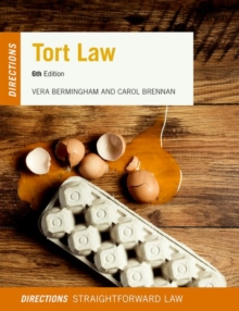 Tort Law Directions, Paperback Book