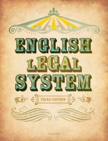English Legal System, Paperback / softback Book