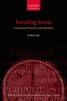 Encoding Events : Functional Structure and Variation, Hardback Book