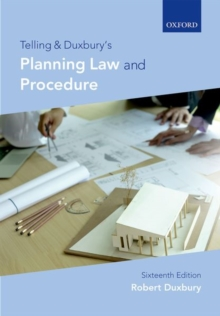 Telling & Duxbury's Planning Law and Procedure, Paperback / softback Book
