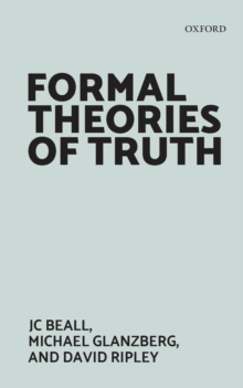 Formal Theories of Truth, Paperback Book