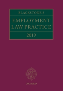 Blackstone's Employment Law Practice 2018, Paperback / softback Book