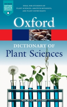 A Dictionary of Plant Sciences, Paperback / softback Book