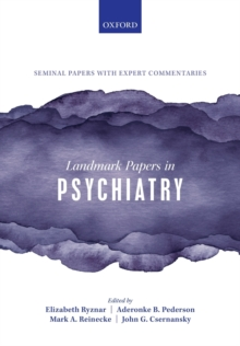 Landmark Papers in Psychiatry, Paperback / softback Book
