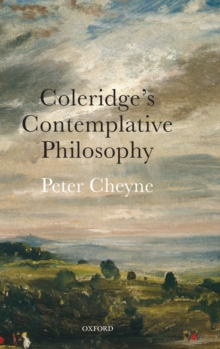 Coleridge's Contemplative Philosophy, Hardback Book