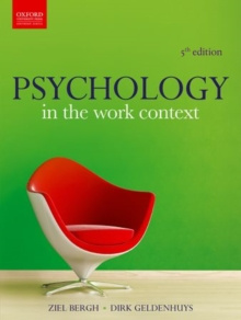 Psychology in the Work Context, Paperback / softback Book