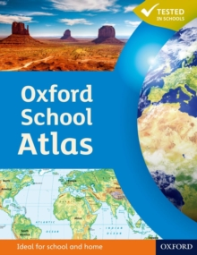Oxford School Atlas, Hardback Book
