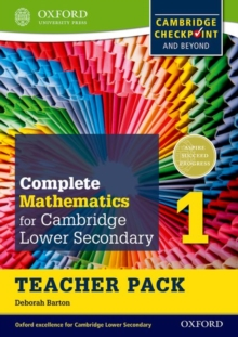 Complete Mathematics for Cambridge Lower Secondary Teacher Pack 1 : For Cambridge Checkpoint and Beyond, Mixed media product Book