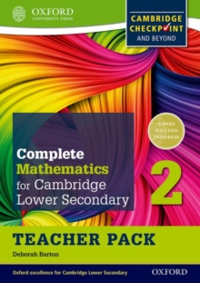 Complete Mathematics for Cambridge Lower Secondary Teacher Pack 2 : For Cambridge Checkpoint and beyond, Mixed media product Book
