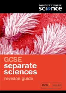 Twenty First Century Science: GCSE Separate Science Revision Guide, Paperback Book