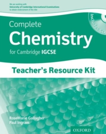 Complete Chemistry for Cambridge IGCSE: Teacher's Resource Pack, Mixed media product Book
