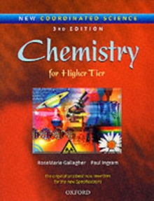 New Coordinated Science: Chemistry Students' Book : For Higher Tier, Paperback / softback Book