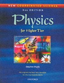 New Coordinated Science: Physics Students' Book : For Higher Tier, Paperback Book