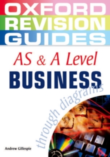 AS and A Level Business Studies Through Diagrams, Paperback Book