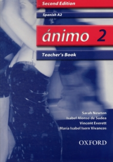 Animo: 2: A2 Teacher's Book, Paperback Book